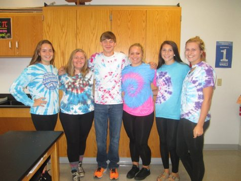 Enthusiastic Students Participate in Spirit Week 2017