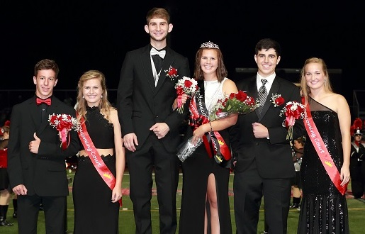 The Beautiful Homecoming Court of 2017