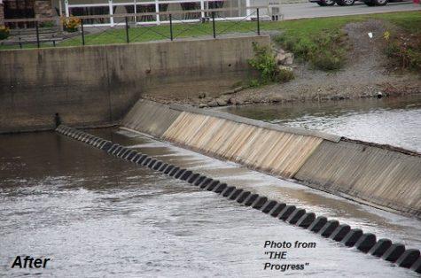 Raftsmen's Memorial Timber Dam Undergoes Repair