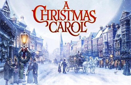 Theatrical Students Act in A Christmas Carol