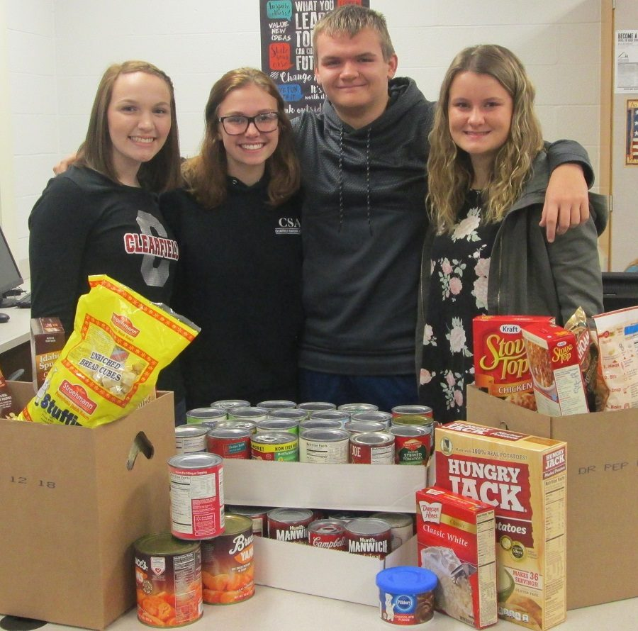 English Dept. Collects Hundreds of Items for Those in Need