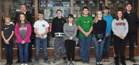 December Students of the Month announced