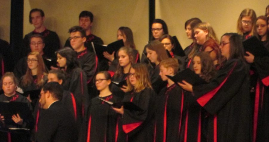 Choir Participates in Experience the Arts