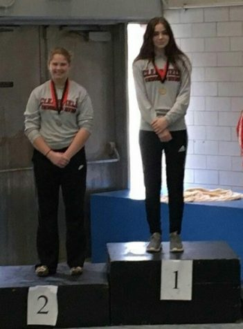 Clearfield High School Diving Team Competes At Iup