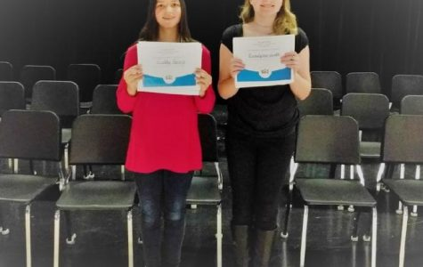 Clearfield Elementary School Spelling Bee champions