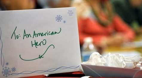 Classes Send Nearly 180 Cards to Military Personnel During Holidays