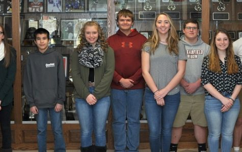 March Students of the Month Honored