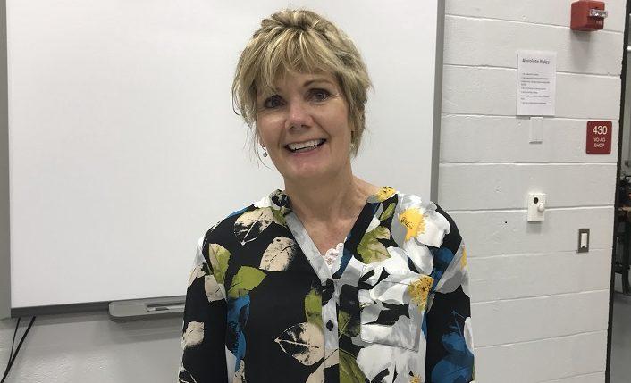 Clearfield Area Junior-Senior High School Agriculture teacher, Mrs. Carr