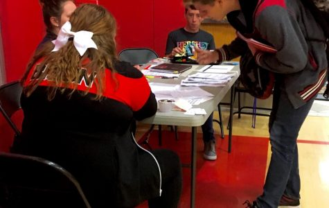 First blood drive of school year held