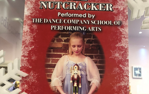 Nutcracker poster - Pictured is Zoie Sidorick