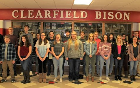 Students named November honorees