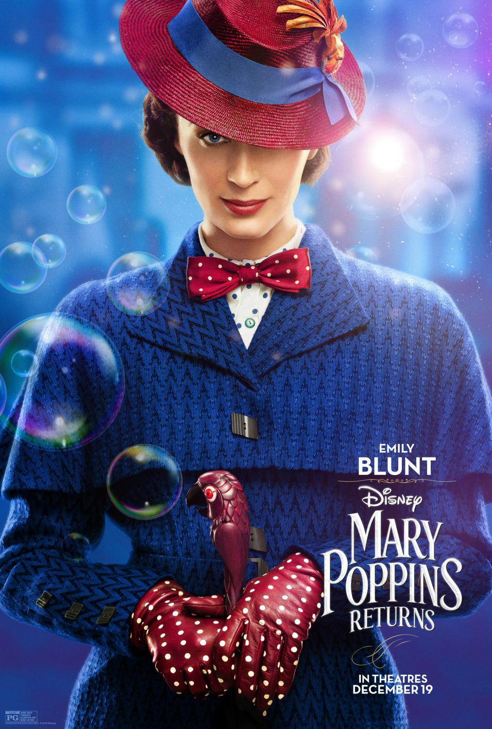 Mary Poppins Returns poster (bing.com).