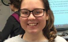 "Ellen Collins: ""I want to keep my grades up."""