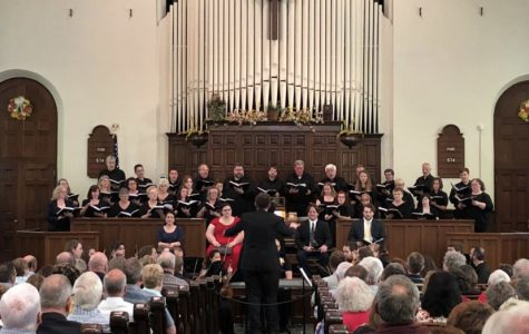 Clearfield Choral Society performs its 2018 spring concert.