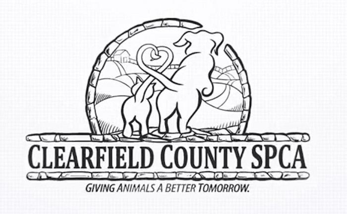 The Clearfield County SPCA logo. Source: NOVA6 Marketing on YouTube