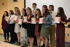 Seniors take honors at annual awards ceremony