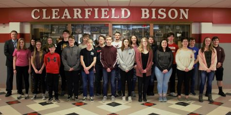 February 2019 Students of the Month celebrated