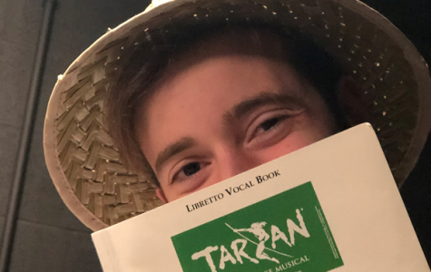 Tarzan cast is hard at work for April show