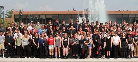 Clearfield Music Department races through 2018-19 Trip