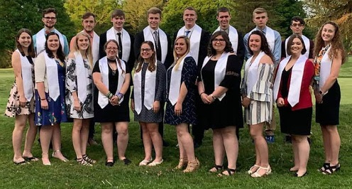 The Class of 2019 Summa Cum Laude honorees who earned a GPA of 98% and above.
