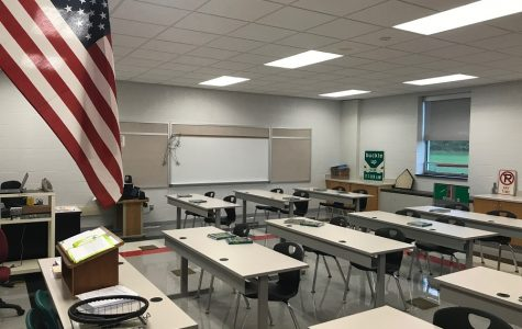 Driver's ed instructor receives new room
