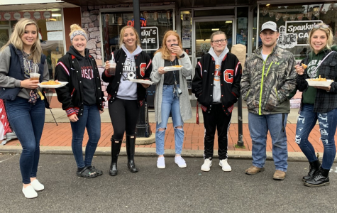 Students participate in Clearfield's 2019 downtown fall festival