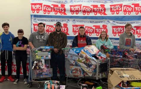 Students help out with Toys for Tots campaign