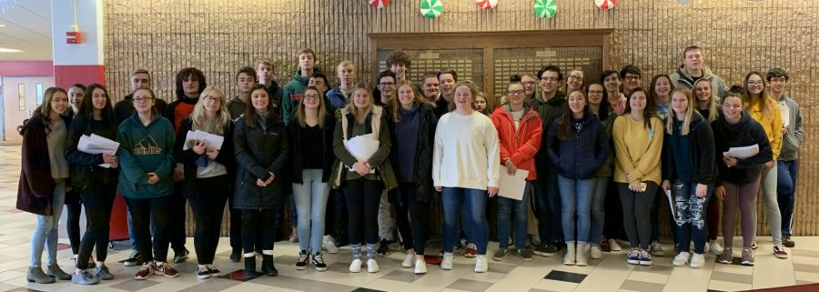 Clearfield Area Jr-Sr High School Spanish Honors Society