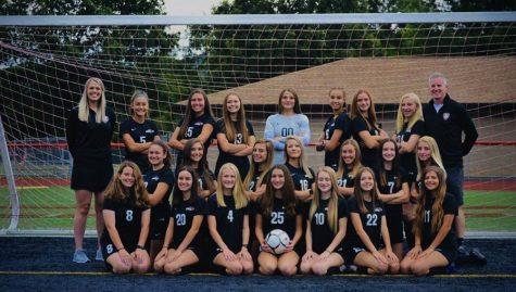 2020-21 CAJSHS Girls Varsity Soccer Team