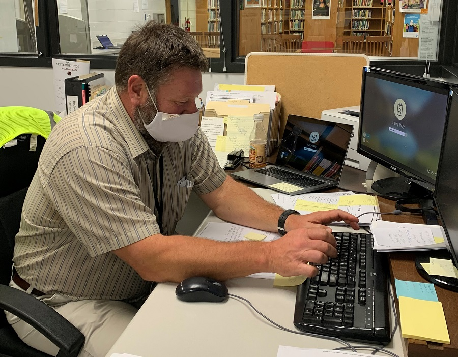 Mr. Way, Librarian