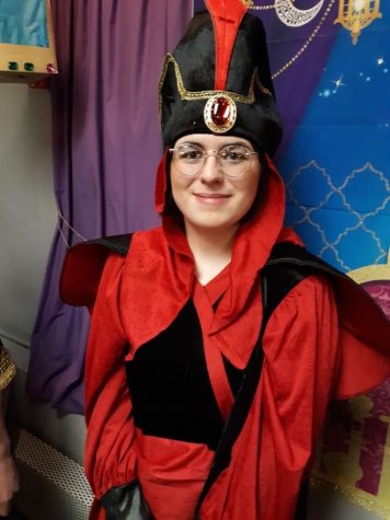 Taylor Humenay in Aladdin Jr. last February.