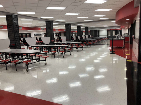 Cafeteria still supplying meals during hybrid schedule