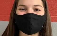 """Emily Hanes, 12th grade: """"I am disappointed that I do not get to be with by friends that go on B day due to it being my senior year. But I know that it is keeping us safe, now I am just ready to graduate."""""""