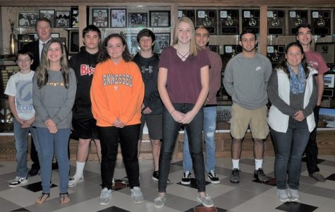 Students Named Honorees for October