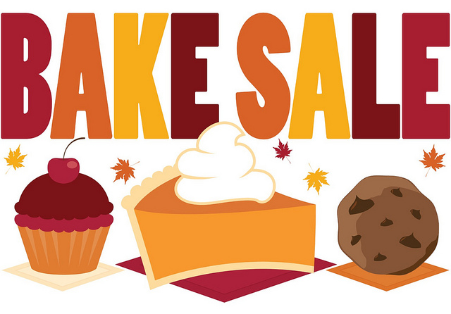 bake sale to benefit school family the stampede Bake Sale Items Clip Art Bake Sale Art