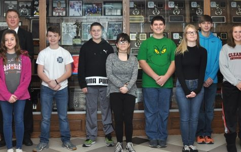 Students Honored During December