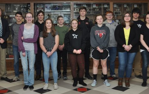 Students of the Month Honored for February