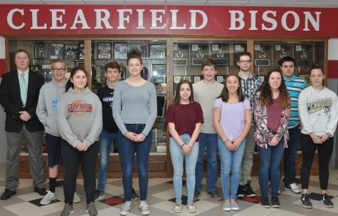January Students of the Month honored