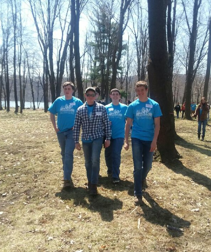 From Left: Clayton Brown, Chuck Gardner, Philip Rowles, and Cole Smay