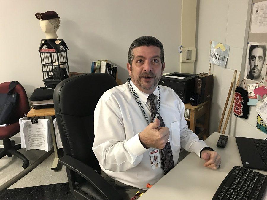 Social studies teacher Mr. Billotte