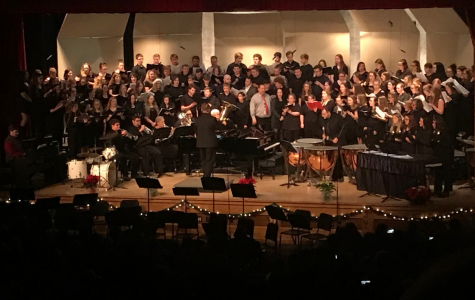 Clearfield Area Junior-Senior High School holds annual Christmas concert
