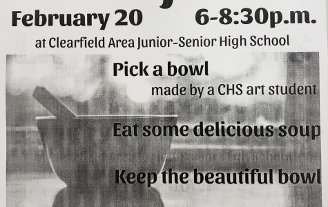 Helping Hands and Ceramics I help with the Empty Bowls Project