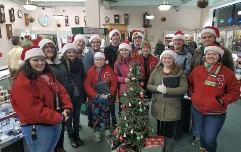 Caroling choir brings Christmas cheer to downtown Clearfield