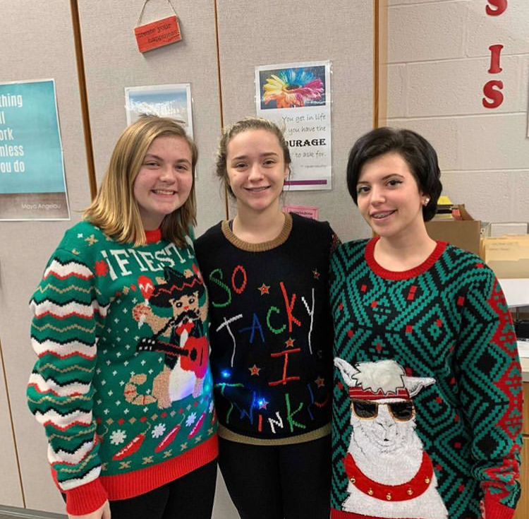 Holiday Spirit Week abounds at high school