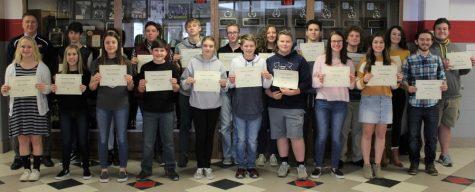 Students named November honorees