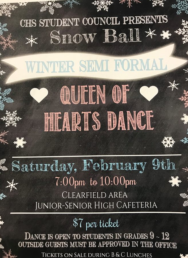 Students Council hosts Queen of Hearts Dance