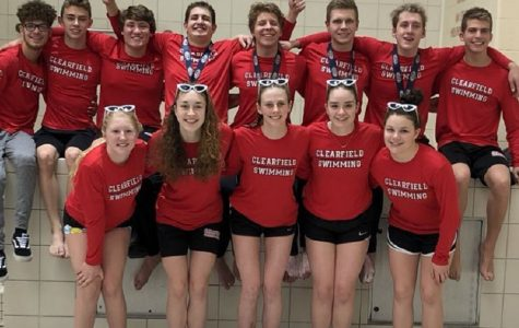 The Clearfield Swim Team impresses all