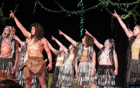 A behind-the-scenes look at the CAJSHS production of Disney's Tarzan