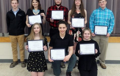 NTHS inductions take place at CCCTC