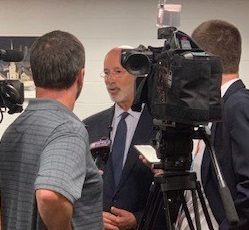Gov. Wolf shares Restore PA Program on high school visit